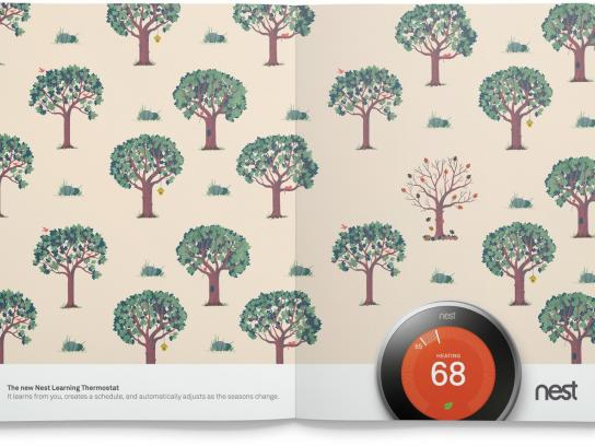 Nest Print Ad -  Seasons