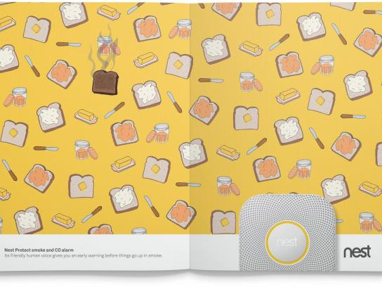 Nest Print Ad -  Smoke