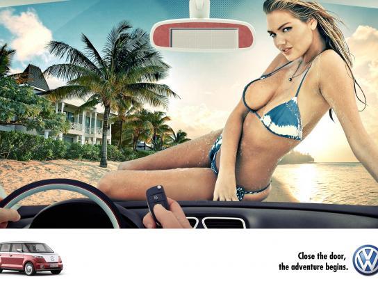 Volkswagen Print Ad -  Adventure, 1