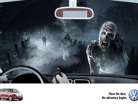 Volkswagen Print Ad -  Adventure, 2