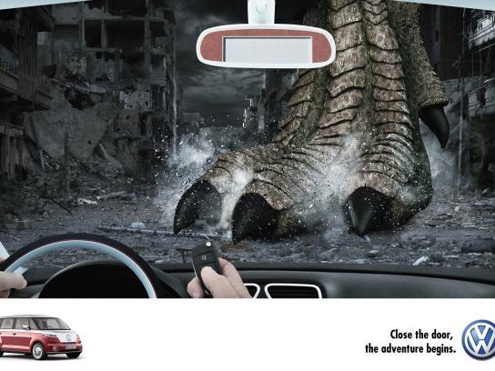 Volkswagen Print Ad -  Adventure, 3