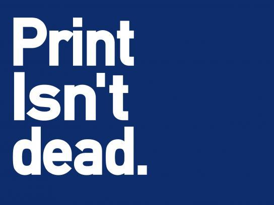 Migdal Print Ad - Print Isn't Dead