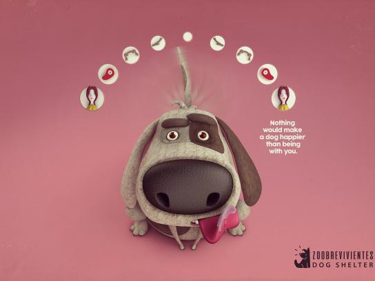 Zoobrevivientes Print Ad - Happy Tails, 2