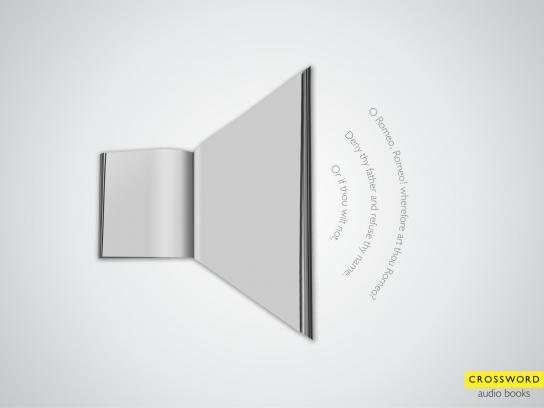 Crossword Bookstores Print Ad -  Audio icon