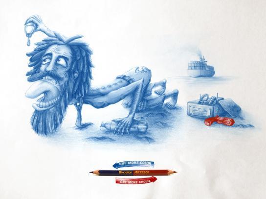 Artesco Print Ad -  Castaway