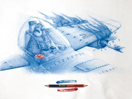 Artesco Print Ad -  Pilot