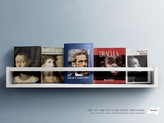 Fundacion Don Bosco Print Ad - Books