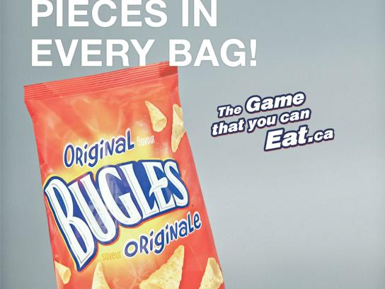 Bugles Print Ad -  Edible