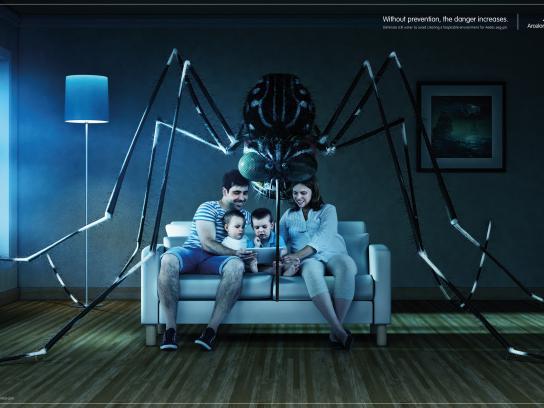 ArcelorMittal Print Ad - Living Room
