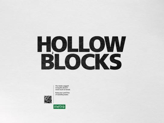 Metro Print Ad - Hollow