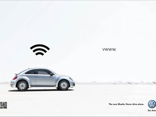 Volkswagen Print Ad -  iBeetle, 1