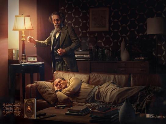 Kinokuniya Print Ad - Charles Dickens