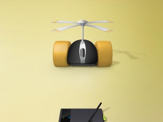 Wacom Print Ad -  Mouse