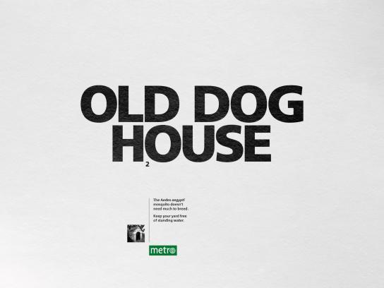 Metro Print Ad - House