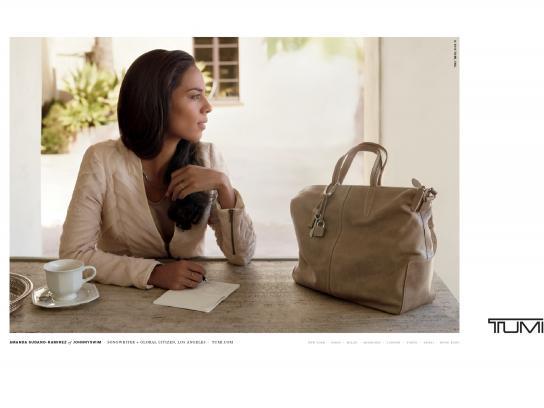 Tumi Print Ad -  Amanda Sudano-Ramirez