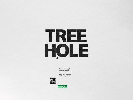 Metro Print Ad - Hole
