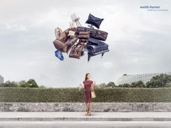 Welti-Furrer Print Ad - Makes your move easier, 1