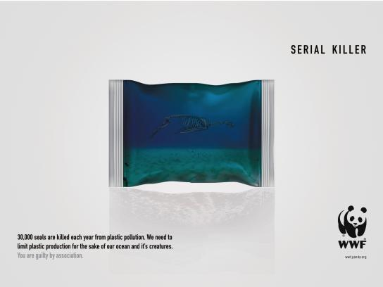 WWF Print Ad - Serial Killer - Seal