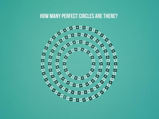 Aspirin Print Ad -  Circles
