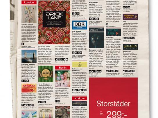 Norwegian Print Ad -  Cities