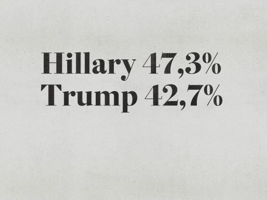 Estadão Print Ad - Hillary