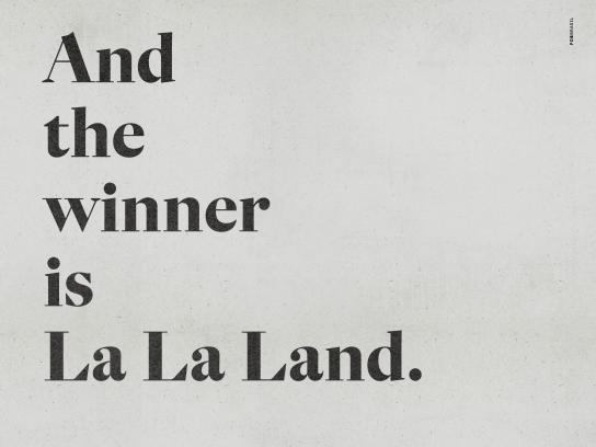 Estadão Print Ad - La La Land