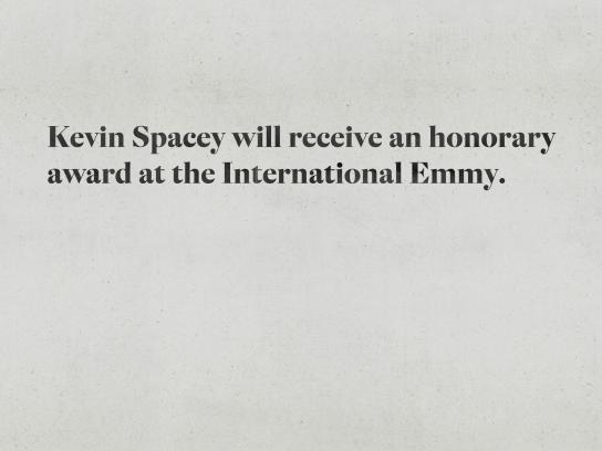 Estadão Print Ad - Kevin Spacey