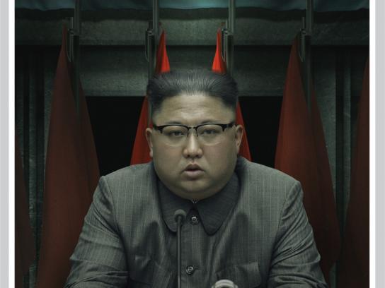 Dos Miradas Print Ad - Kim Jong-un