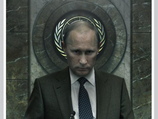 Dos Miradas Print Ad - Putin