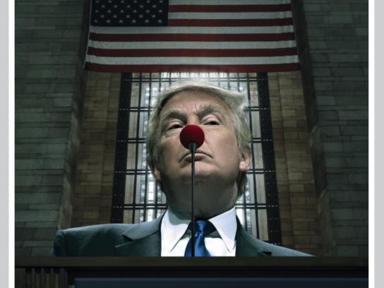 Dos Miradas Print Ad - Trump