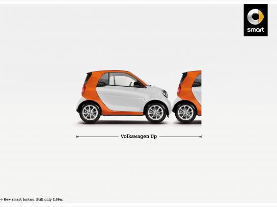 Smart Print Ad -  Volkswagen