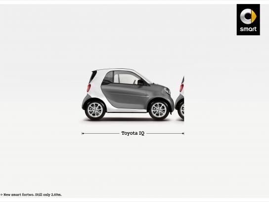 Smart Print Ad -  Toyota