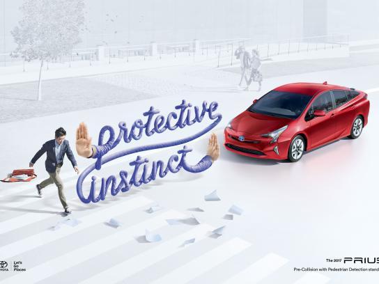 Toyota Print Ad - Paper