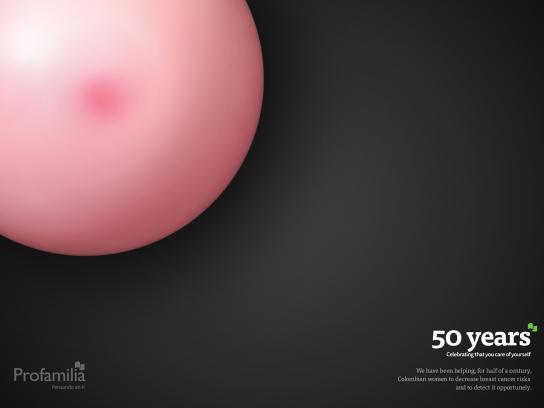 Profamilia Colombia Print Ad -  Breast cancer