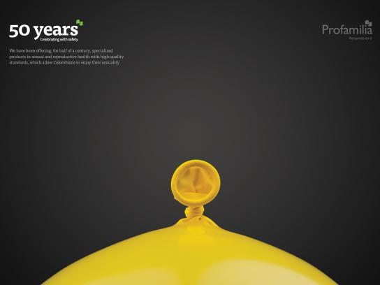 Profamilia Colombia Print Ad -  Condom