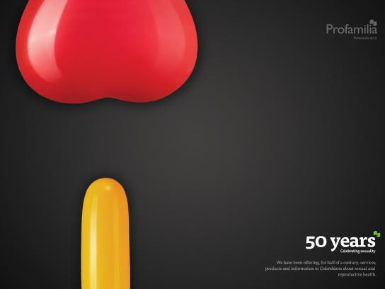Profamilia Colombia Print Ad -  Couple