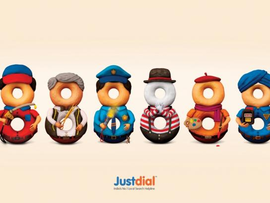Justdial Print Ad -  Professionals, 1