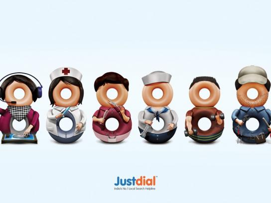 Justdial Print Ad -  Professionals, 3