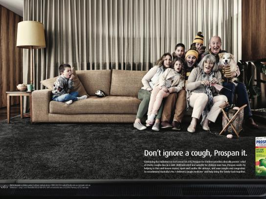 Prospan Print Ad - Couch