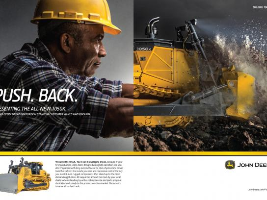 John Deere Print Ad -  Building Together, 4