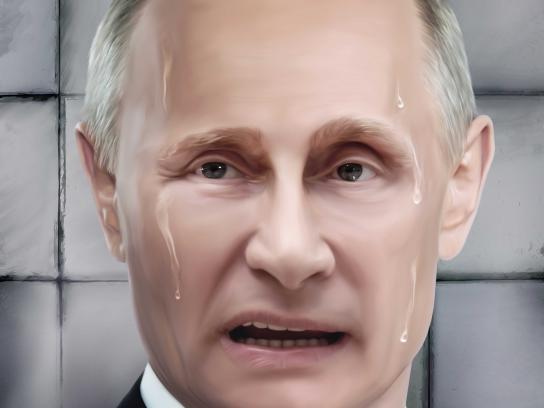 Fiber Colon Print Ad - Releases Tensions - Putin
