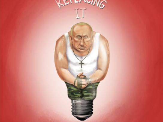 Lighting Warehouse Print Ad -  Putin