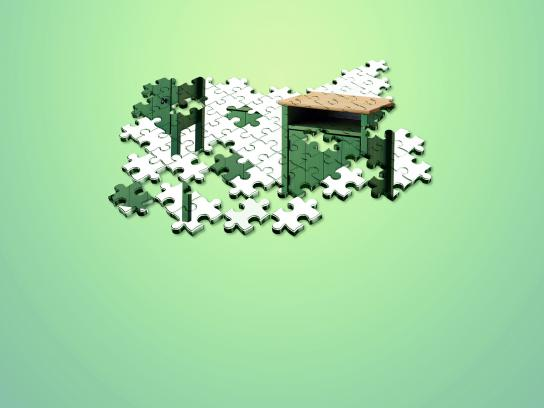 IKEA Print Ad - It shouldn't be that hard - Puzzle