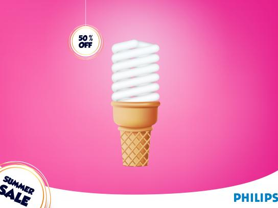 Philips Print Ad - Summer Sale, 1