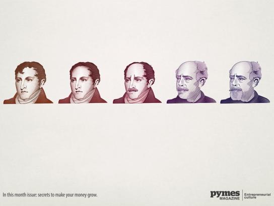 Pymes Magazine Print Ad -  Money