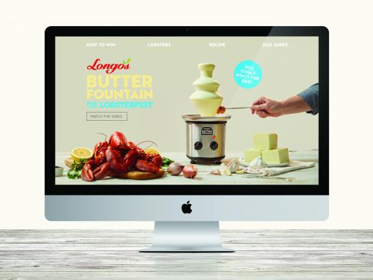 Longo's Markets Content Ad - Butter Fountain