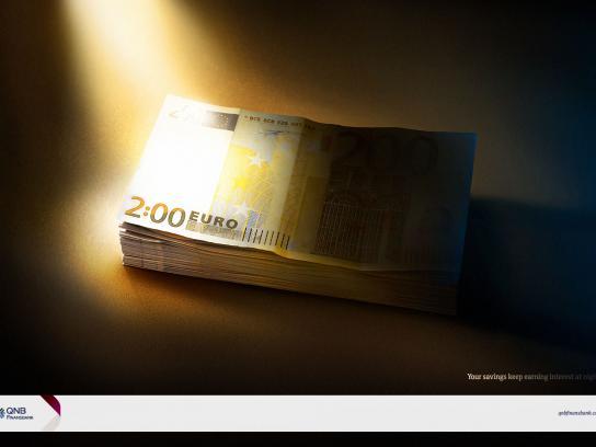 QNB Finansbank Print Ad - Night Interest, 1