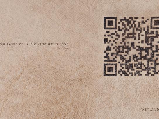 Weylandts Furniture Print Ad -  Leather