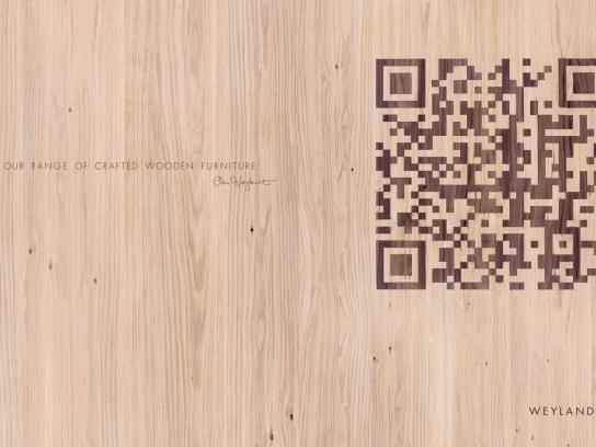 Weylandts Furniture Print Ad -  Wood