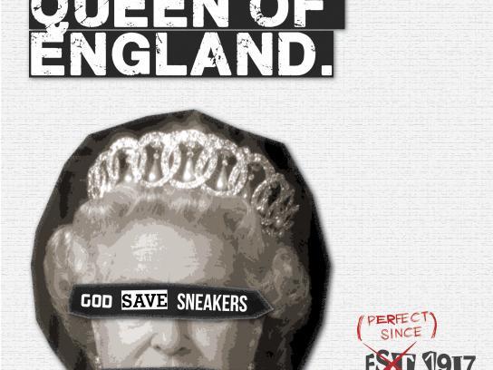 Converse Print Ad - Queen
